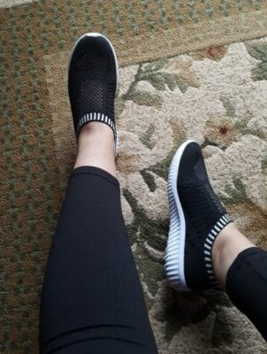 Women's Mesh Casual Athletic Walking Shoes photo review