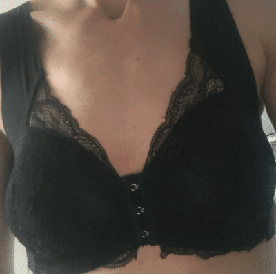 Front Closure Elastic Breathable Bra photo review