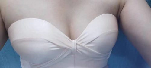 Casa Flory™ Cross Lift Strapless Bra With Air Cushion photo review